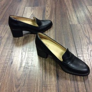 Chunky Heel Naturalizer Loafers